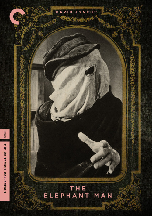 "criterioncorner:midmarauder:   Criterion Cover for David Lynch's ""The Elephant Man"""