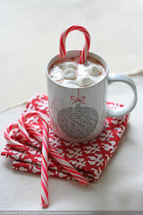 dietkiller:  Hot Chocolate with Mini Marshmallows
