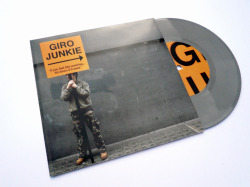 Giro Junkie Album art work along with promotional items and new identity to promote  Stoke-On-Trent  solo artist Giro Junkie and his album 'If you feel like  working…Sit down it'll pass'