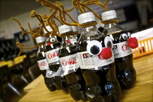 For the Principle.  He loves diet coke so I had to make it a little festive;) <3D