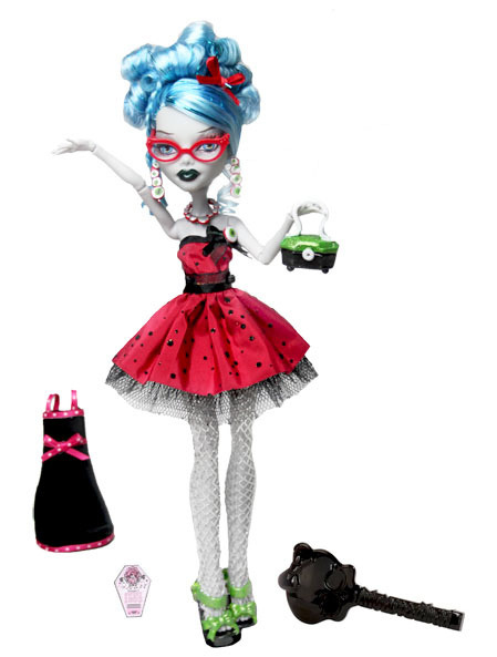 NEW Ghoulia Yelps Sweet 1600 doll is coming out in 2012!!! Yeah, I'm 28 and WICKED excited about it!!!