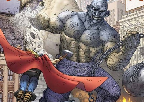 Thor Battles the Absorbing Man