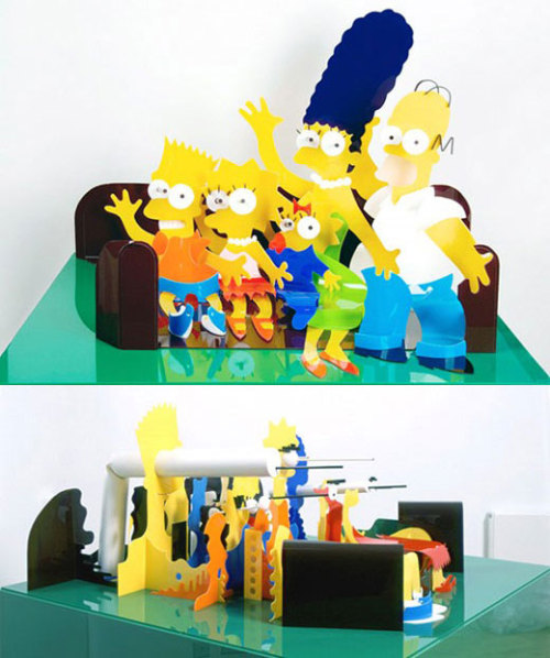 A whole new perspective on The Simpsons.