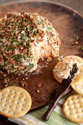 FOUND. Nutty Bacon Cheese Ball
