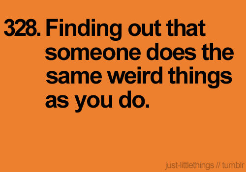 Weird things… :)