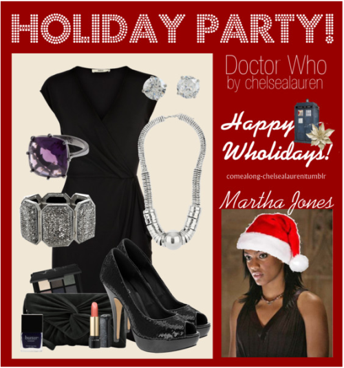 Martha Jones - Wholiday Party! - | Doctor Who - Click here!