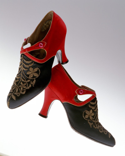 oldrags:  Shoes by André Perugia, 1920's (ca 1922-29?) Paris, KCI