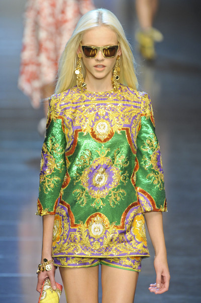 D&G S/S 2012, Milan Fashion Week