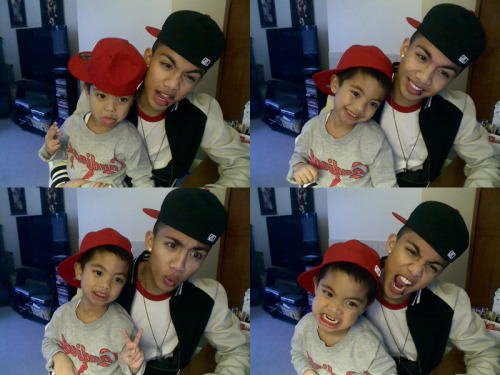 darrizzzle:  Gotta love your little bro :)