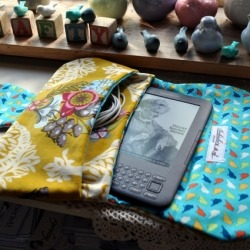 make your own kindle/ipad/tablet cloth case!