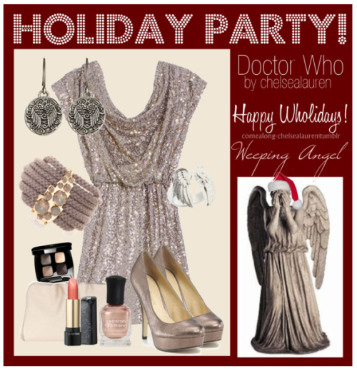 Weeping Angel - Wholiday Party! - | Doctor Who - Click Here!