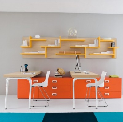 musesofdesign:  (via Kids' Desks)