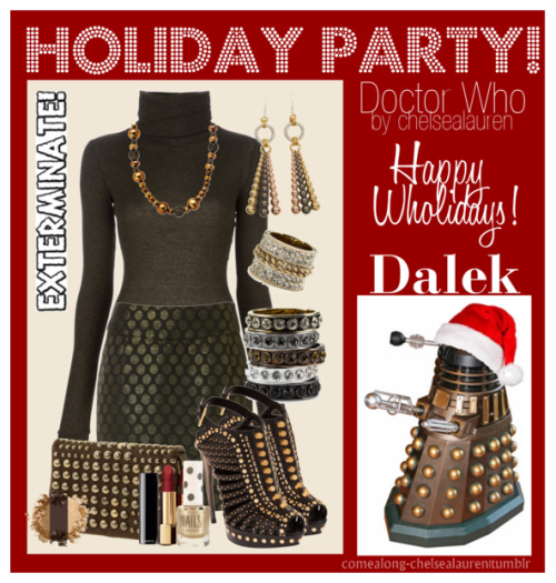 Dalek - Wholiday Party! - | Doctor Who - Click Here!