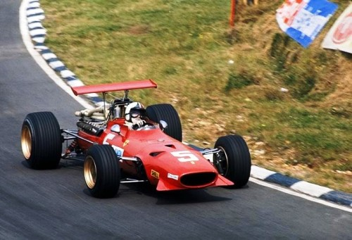 Chris Amon at the 1968 British Grand Prix