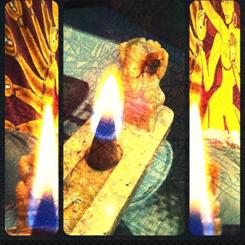 #rose #incense #marble #smoke #shiva #hindu #goddess #burning #flame #fire #picframe #iphoneonly #iphoneography #zen #peace #relax  (Taken with instagram)