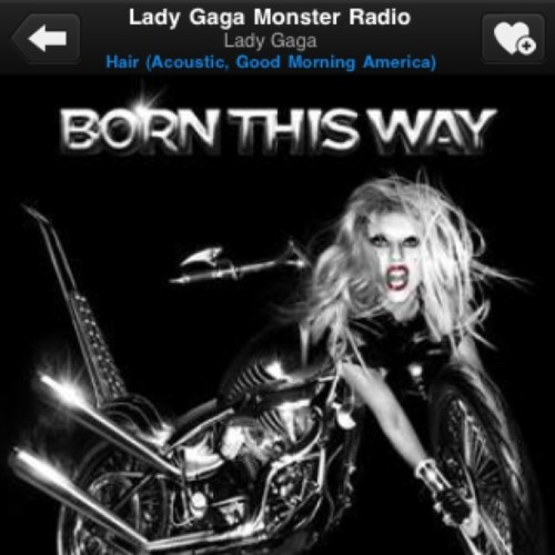 #LadyGagaMonsterRadio #TuneInRadio #App #iphone (Taken with instagram)