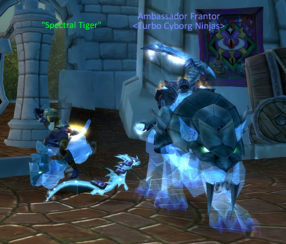 someone in my guild managed to find a spectral tiger for 79k and it made me sad that it wasn't me :(