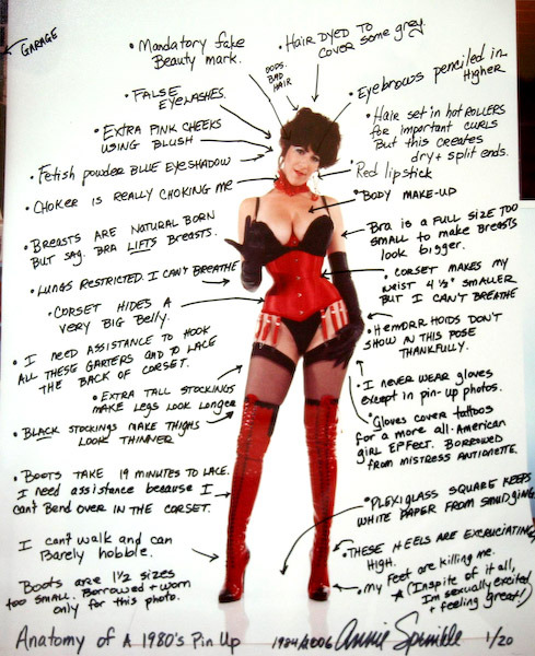 dazzledent:  God bless Annie Sprinkle. I enjoyed her pornography but, honestly, I've enjoyed (and respected) even more what she has done since then: challenging and assertively feminist, but usually with a touch of humor, and always with great humanity. I would love to spend an afternoon in a quiet restaurant with her.