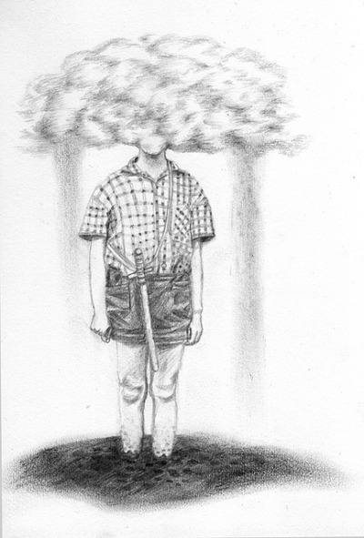 Thing I couldn't remember by willberain on Flickr.pencil on paper, A5