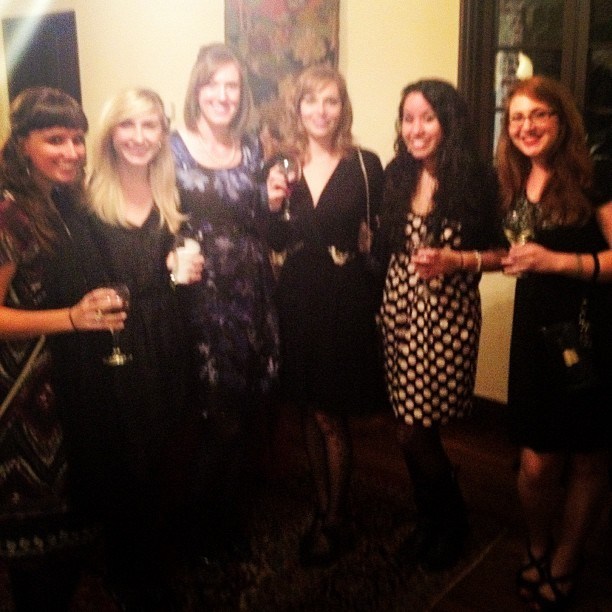 A little blurry, but ever so fabulous — the ladies of RELEVANT (Taken with Instagram at Casa Feliz)