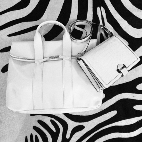 """Blanc bags are tres chic"" - Shiona Turini, Accessories Director Check out more top bags for the season here »"