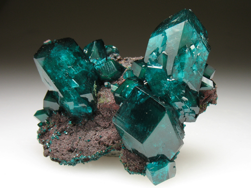 Dioptase, such a beautiful color.