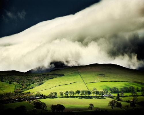 Craig Easton's photograph of Tweeddale in Scotland was commended in the Your View category of the Take a View landscape photographer of the year 2011 awards