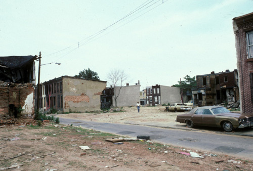 broadway from newton ave., camden, new jersey, 1982, by camilo josé vergara @ american suburb x