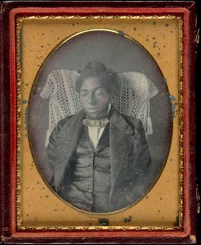 ca. 1855, [post mortem portrait of a gentleman] via Yale University, Beinecke Rare Book and Manuscript Library, Collection of Western Americana