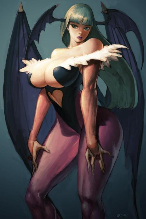 Morrigan // Artwork by Kyoung Seok (2011)