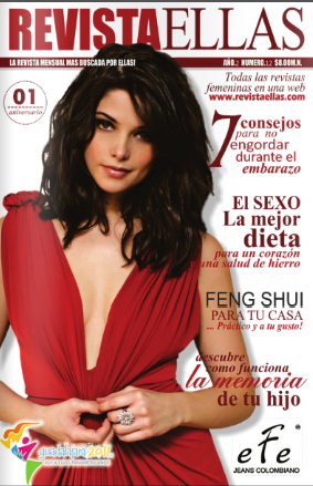 kristenstewartashelygreene:  Ashley Greene on the cover of Ellas Magazine