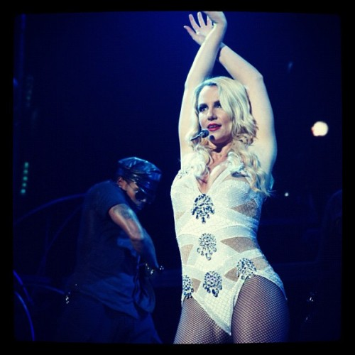 November 28, 2011 - Femme Fatale Tour in Venezuela (Taken with instagram)