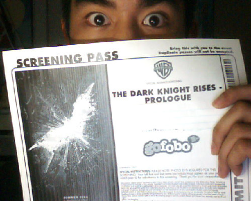 YAY!! I got a screening pass!!