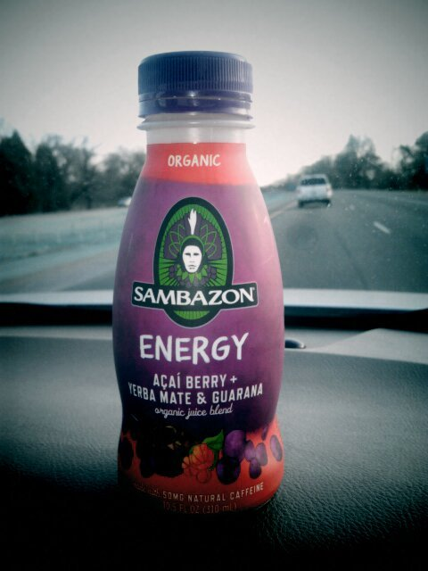 Sambazon organic energy! Acai berry + yerba mate & guarana. So so so good!
