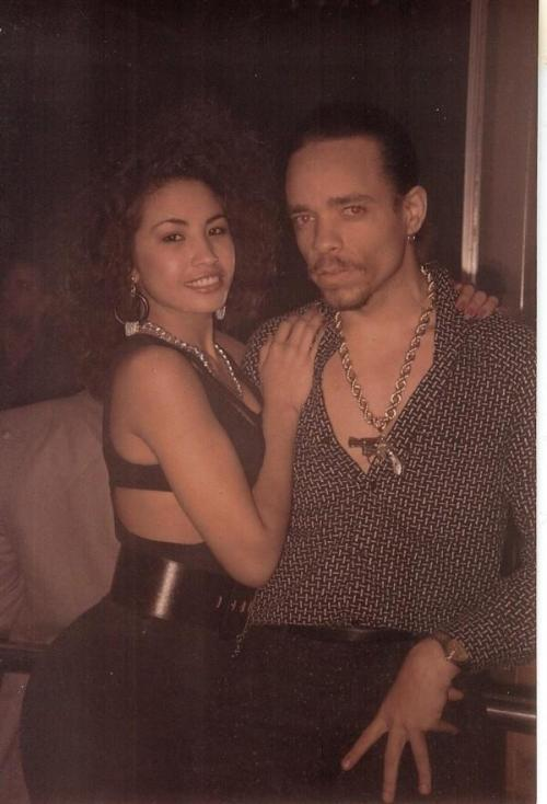 Ice-t  & his Ex wife Darlene Ortiz