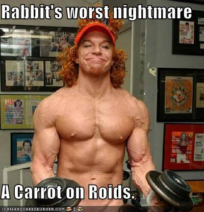 I love hearing baseball players excuses when they get busted for roids or HGH… Ryan Braun… make me proud….   ps- Carrot top is still funnier than Dane Cook…..