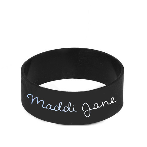 maddians:  Maddi Jane - Rubber Bracelet costs $9.99