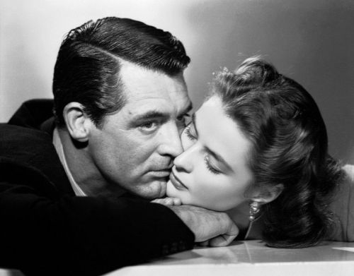 theconstantbuzz:  Cary Grant and Ingrid Bergman