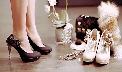 i really like shoes <3