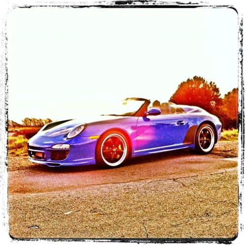 Another quick snap of the #Porsche #Speedster from the other day. #iphone #iphone4 #iphoneonly #iphoneographer #iphoneography (Taken with Instagram at Beacon Hill Park)