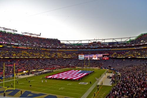 Army vs. Navy in Washington DC.