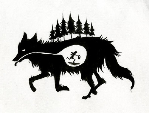 i-am-i-am:  Big Bad Wolf by Katie C. Turner on Flickr.