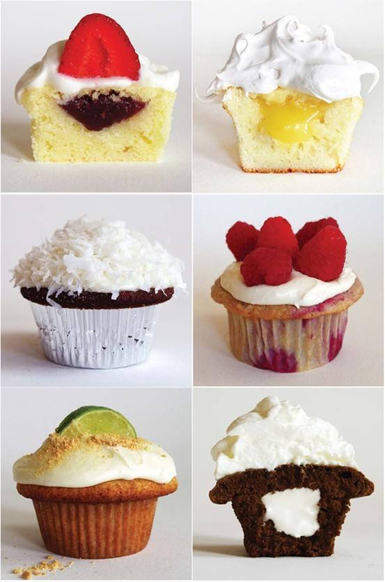 foodnetworkdreams:  33 of the best cupcake recipes you'll ever find! Find the recipes here.