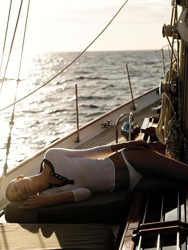 Sleeping Beauty on a Sailboat.
