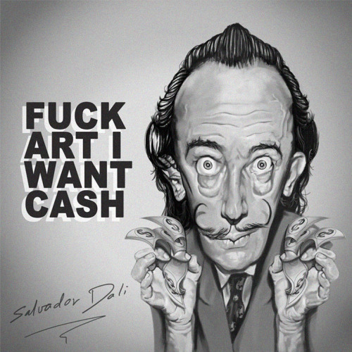 Salvador Dali by *vp021