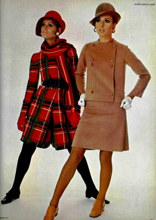 Outfits By Jeanne Lanvin & Gres - 1967 L'Officiel De La Mode - 545-546