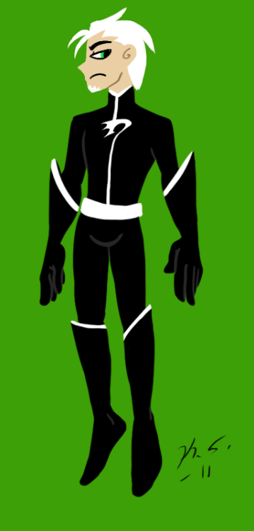 A recent Danny Redesign from Danny Phantom
