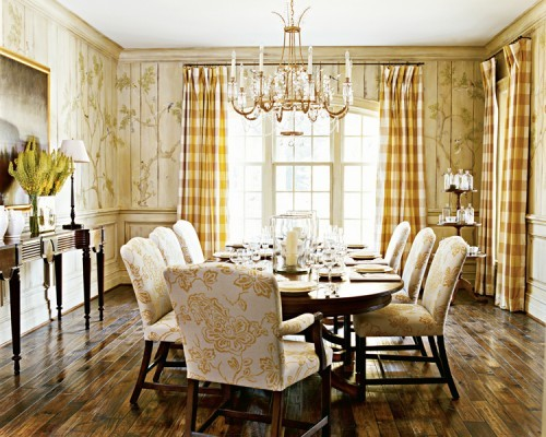 Beautiful details in a DC area dining room.  Harrison Design Associates.