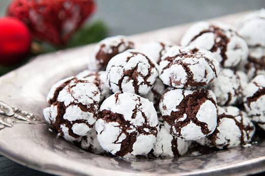 (via Chocolate Crinkles Recipe | Simply Recipes)