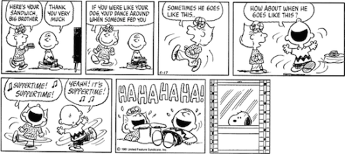 May 17, 1981 — see The Complete Peanuts 1979-1982